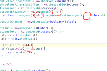 Visual Studio for Mac with Ligatures font 'Fira Code