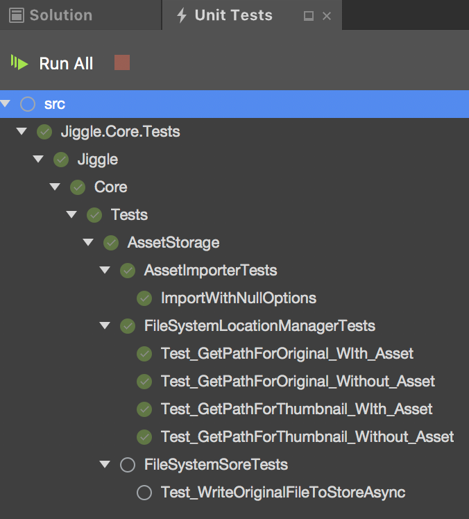How to run xUnit Tests in Visual Studio for Mac – marcduerst com